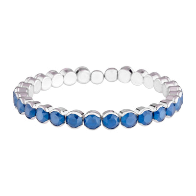 IBIZA BANGLE ROYAL BLUE BRACELET - FOREVER - ST BARTHS - ROYAL BLUE FOREVER