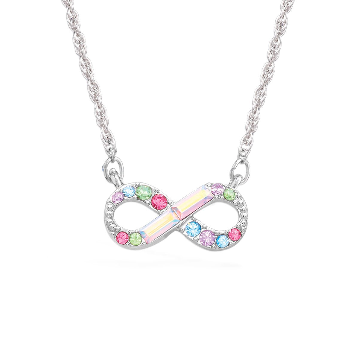 Infinity Multicolor Pendant forevercrystals