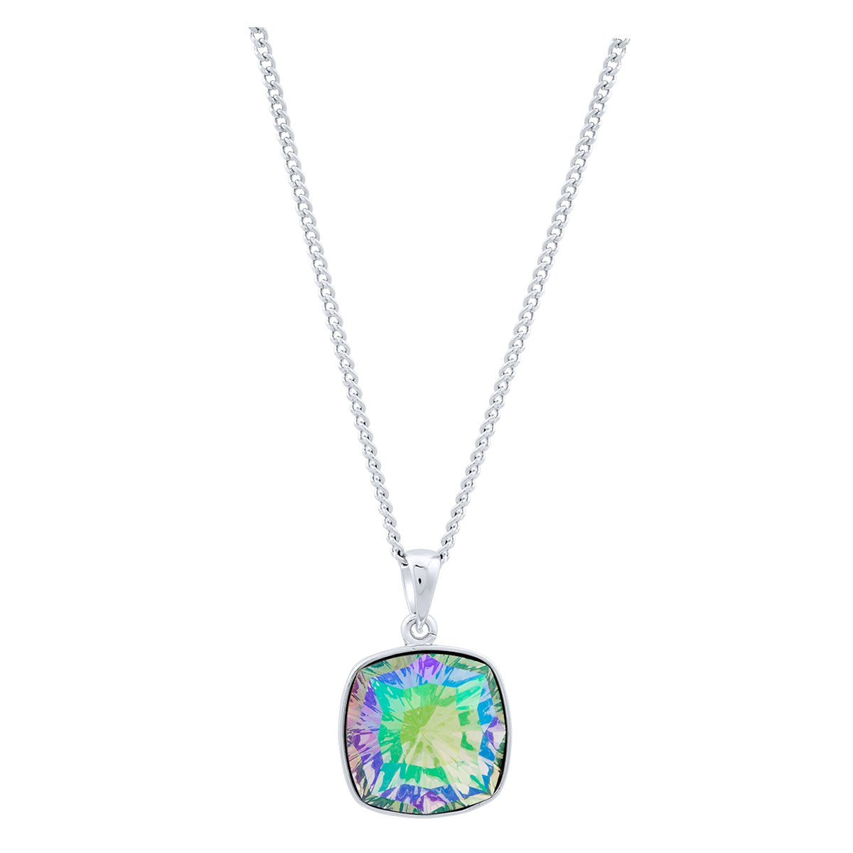 Louvre Pendant Silver Paradise Shine JOY OF SPARKLE FOREVER CRYSTALS