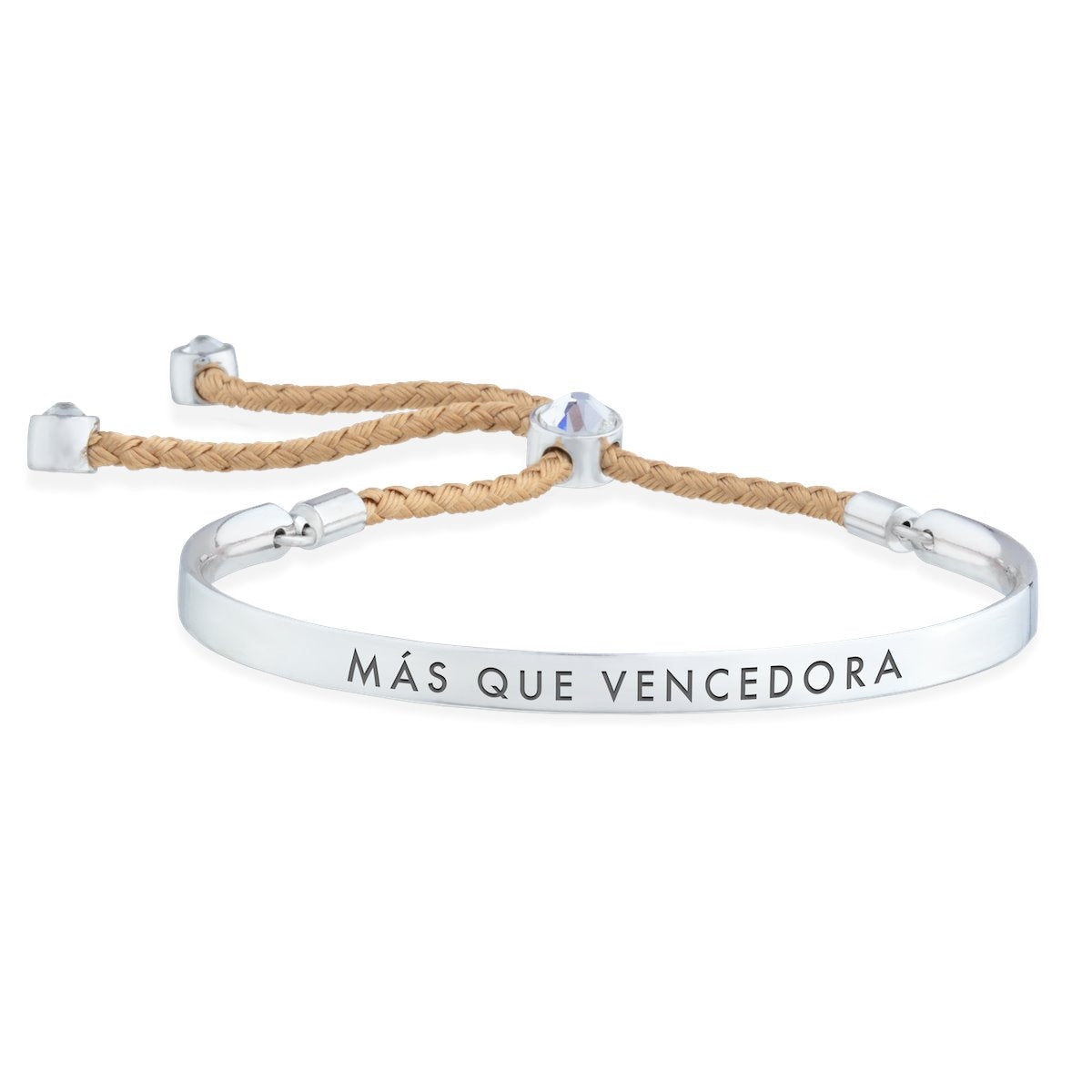 Más que Vencedora – Words of Empowerment Bracelet