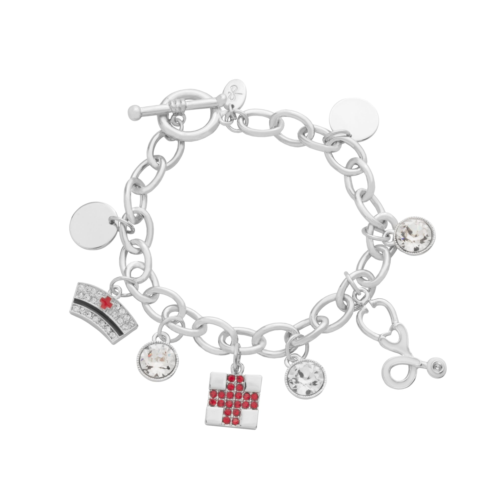 NURSE CHARM BRACELET LIGHT SIAM