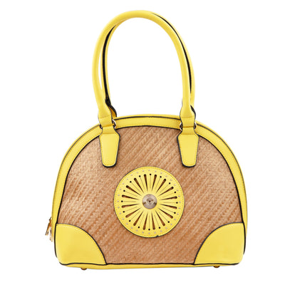 OSIER HANDBAG YELLOW Unclassified Forevercrystals