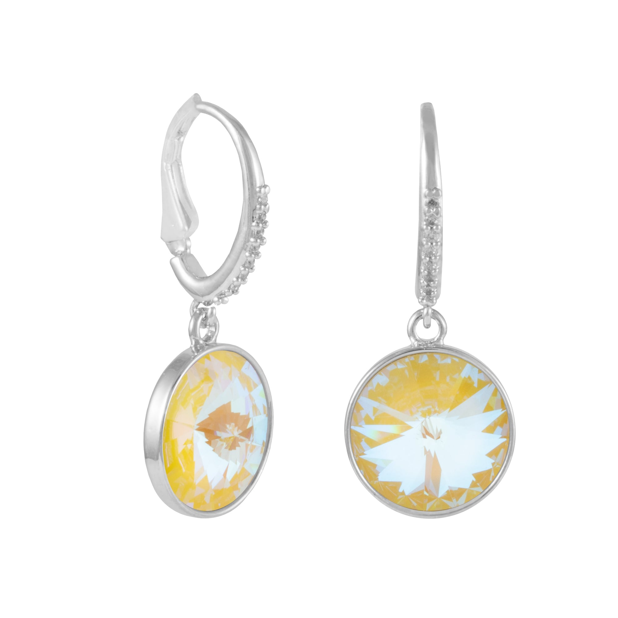 OSJ MARBELLA DANGLE EARRING SUNSHINE DELITE EARRING - FOREVER CRYSTALS - OSJ - SUNSHINE DELITE FOREVER