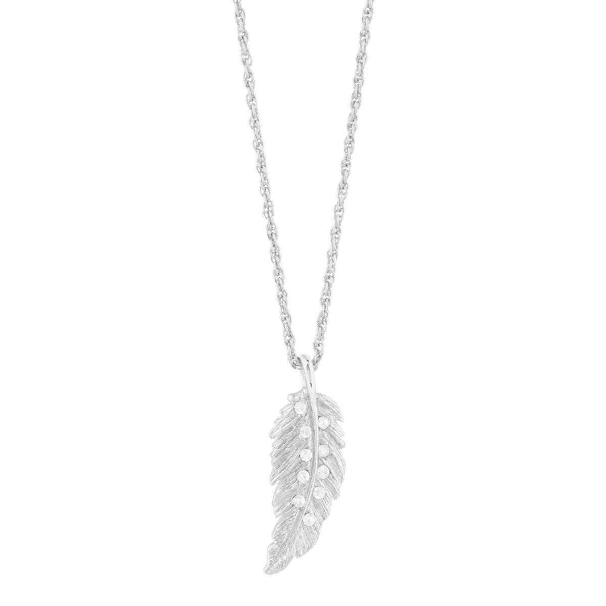 Plume Feather Pendant forevercrystals