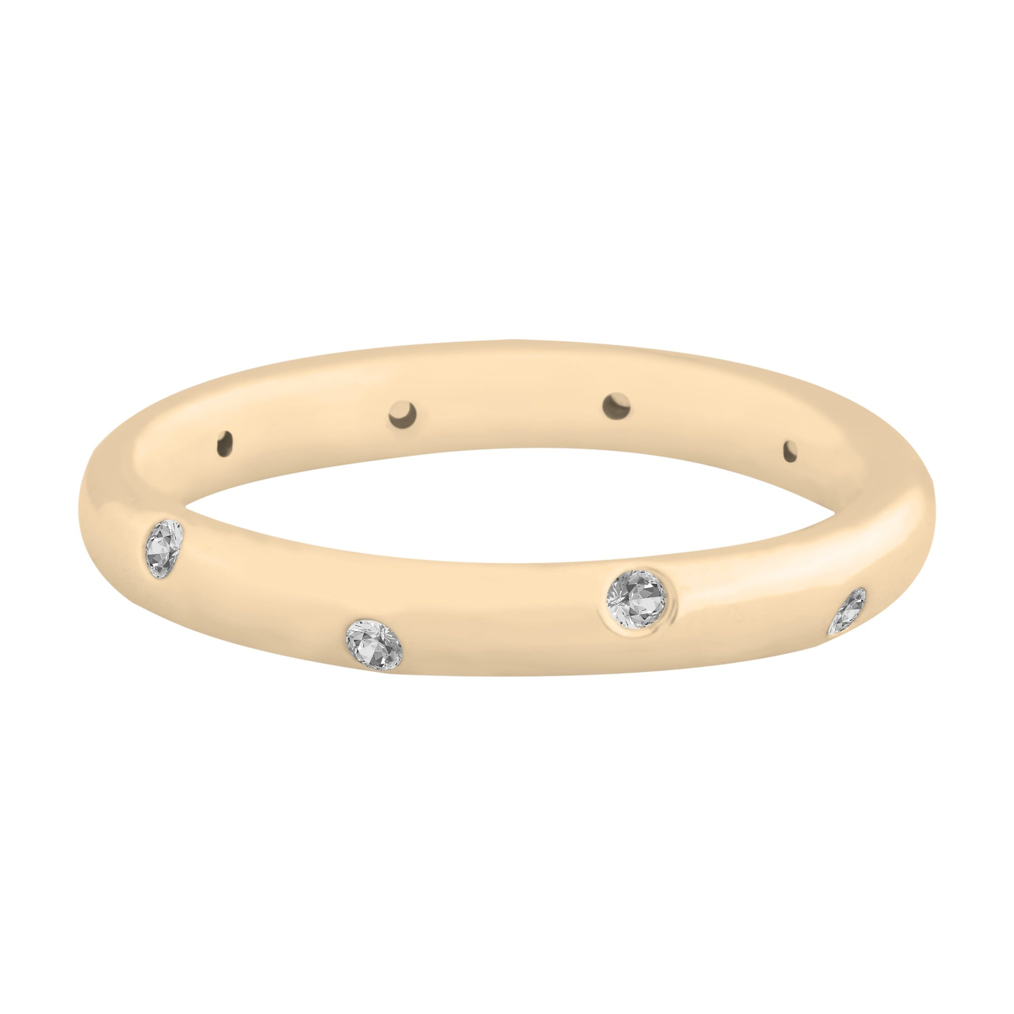 Reese Band Ring Forevercrystals