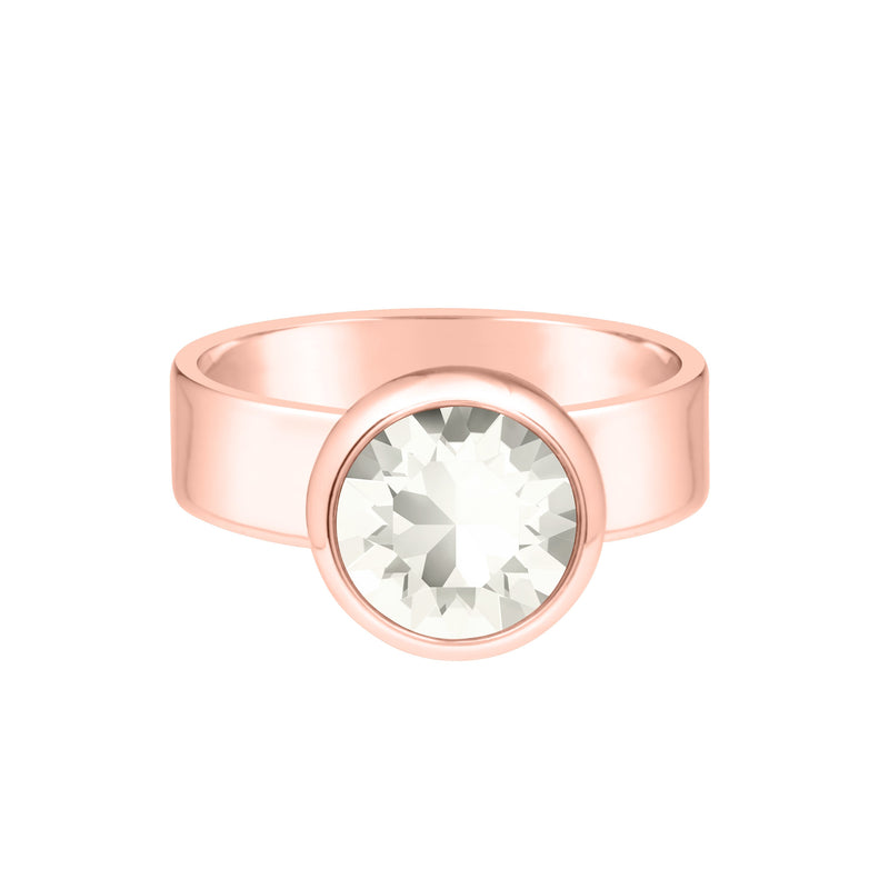 RING GRACE ROSE GOLD MOONLIGHT Cherish FOREVER