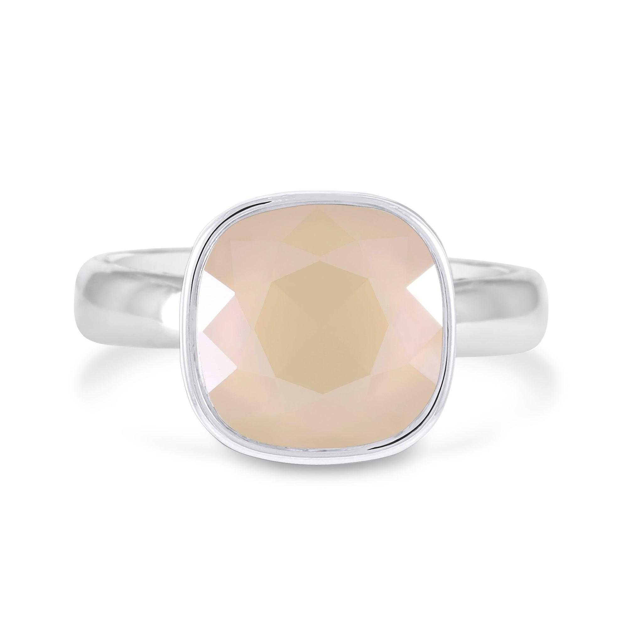 RING NOW AND FOREVER HAVANA IVORY CREAM RING - FOREVER - ESSENTIALS - IVORY CREAM FOREVER