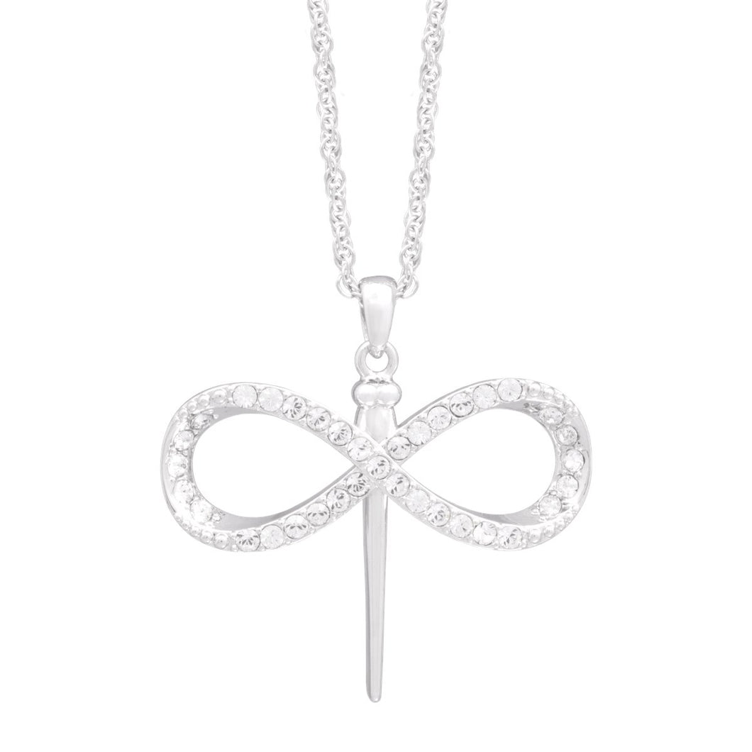 Signature Pave Dragonfly Pendant | Large forevercrystals