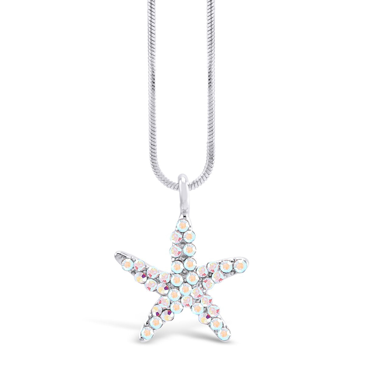 Starfish Pendant PENDANT - FOREVER - VOIAGE SYMBOLS - CRYSTAL forevercrystals