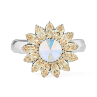Sunflower Ring forevercrystals