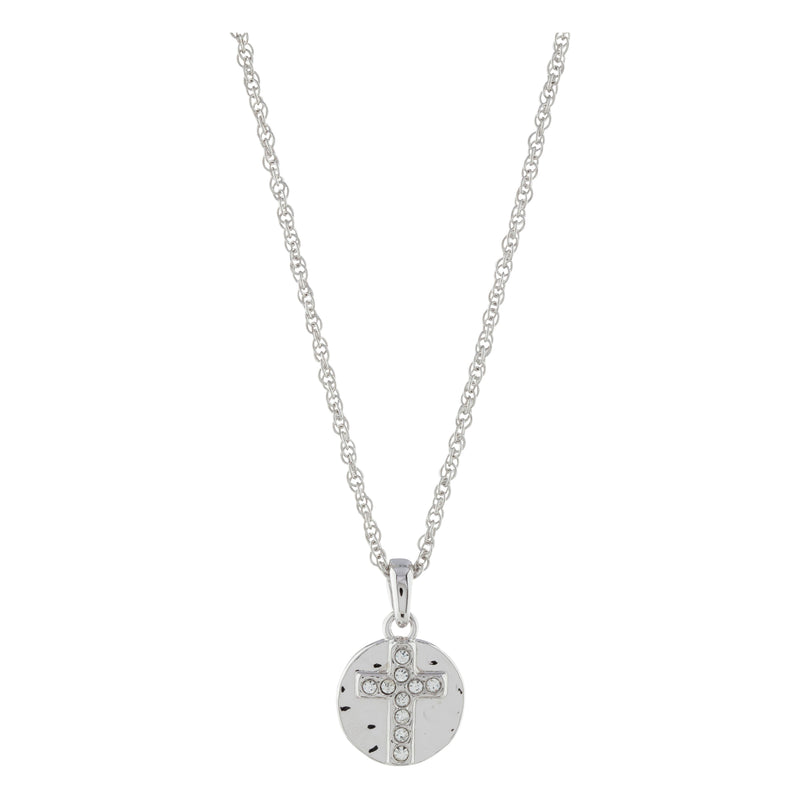 THE SHAPE OF LOVE CROSS PENDANT PENDANT - FOREVER - ESSENTIALS FOREVER