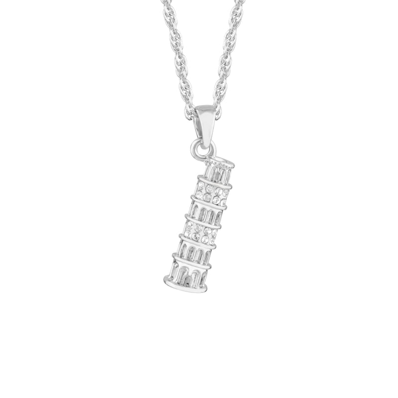 TOWER OF PISA PENDANT CRYSTAL 001
