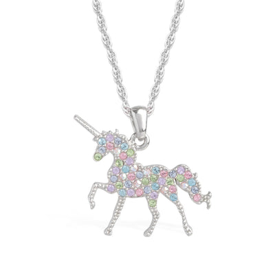 Unicorn Pendant Light Multi forevercrystals