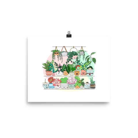 Home by Faith Plant Illustration Art Print