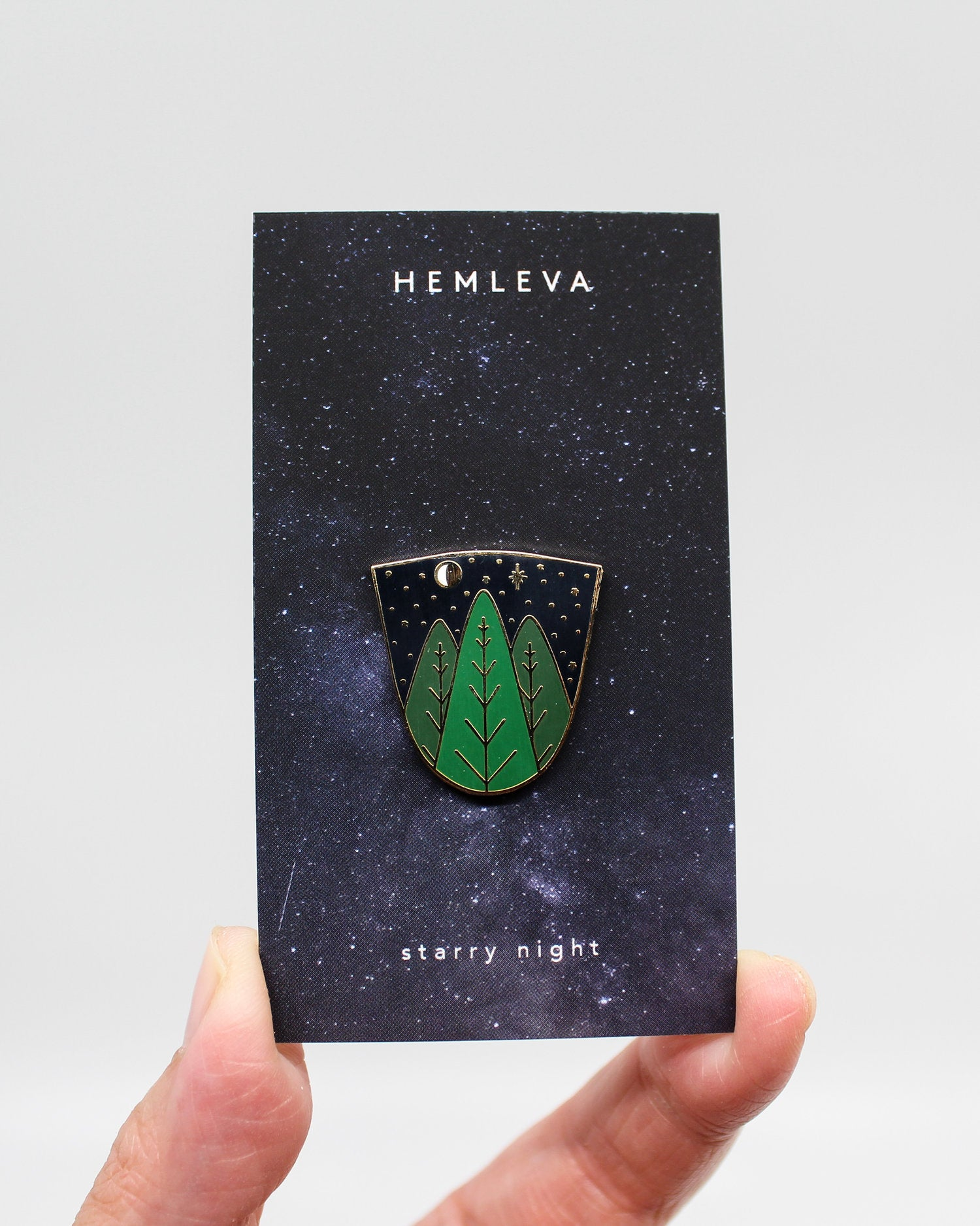 Starry Night Enamel Pin