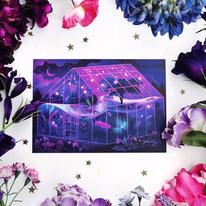 Glasshouse of Dreams Art Print