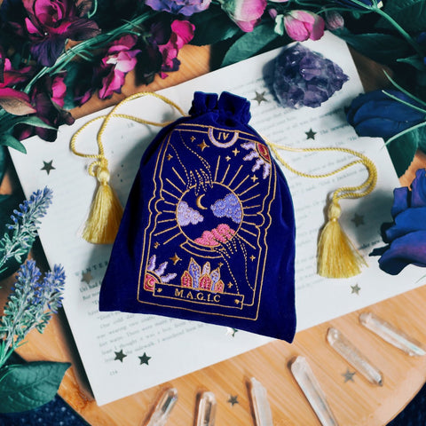 Magic Tarot Deck Pouch🔮✨