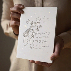 (Seconds Sale) Musings from the Moon book