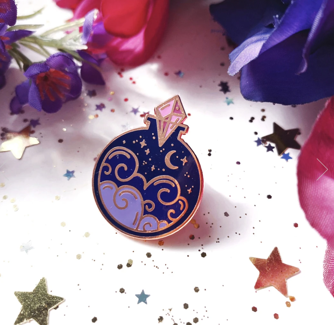Night Sky Potion Enamel Pin