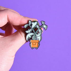 String of Dolphin Soft Enamel Pin