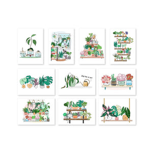 The Plant Buddies Postcard (Set / Individual)