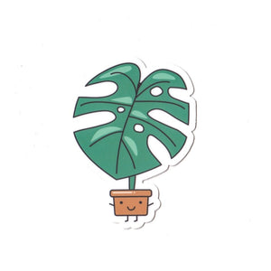 (COMING SOON) Monstera Die Cut Sticker