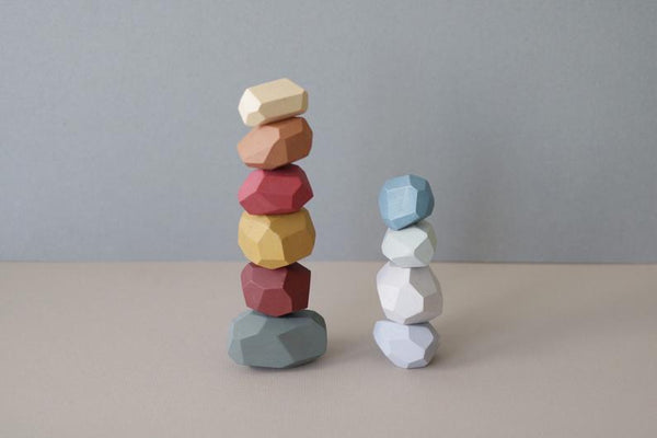 Balancing Stones - Earthy Colours (Set of 10)