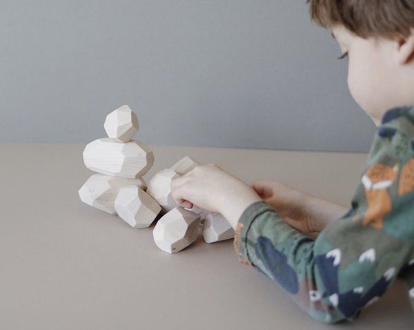 (Seconds Sale) Balancing Stones - Natural (Set of 10)