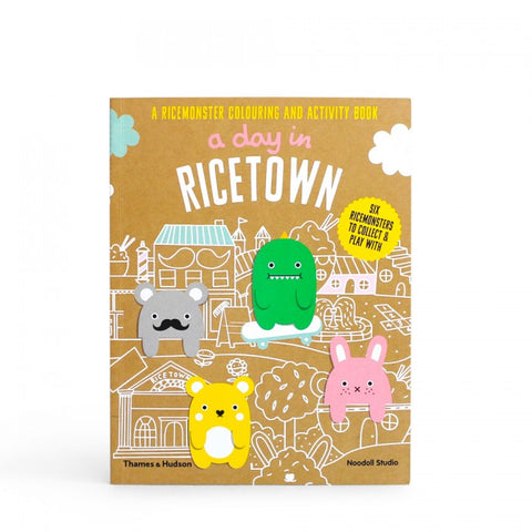 (Seconds Sale) A Day in Ricetown: A Ricemonster Activity Book
