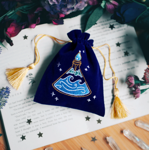 Calming Potion Bottle Trinket Pouch
