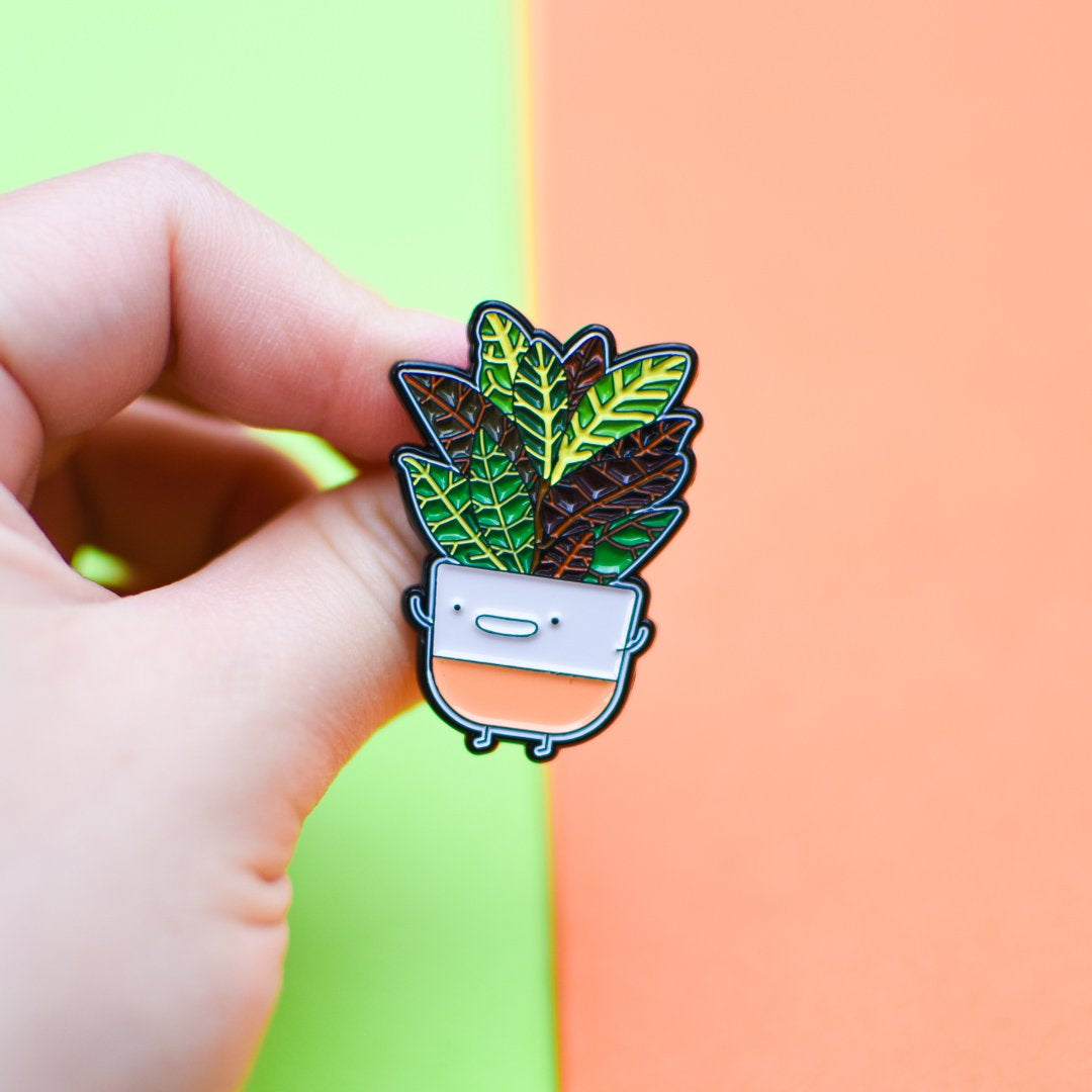Croton Soft Enamel Pin