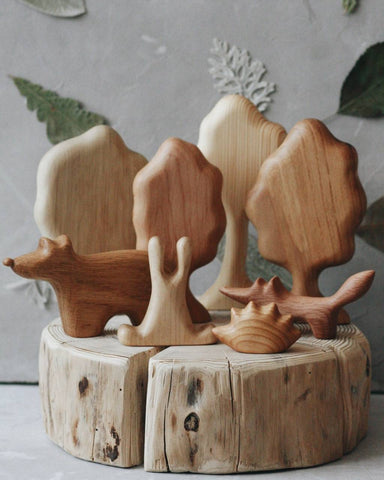 (Seconds Sale) Forest with Animals Set