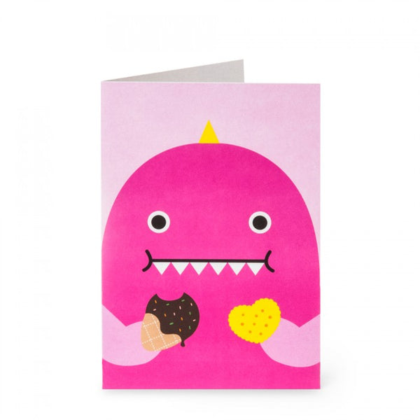 Miss Dino Greeting Card