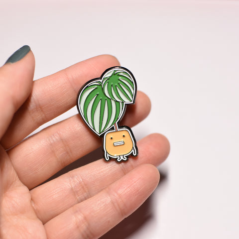 Watermelon Peperomia Soft Enamel Pin