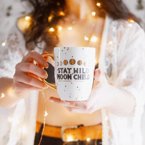 Stay Wild Moon Child Mug - White