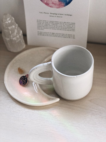 Porcelain Moon Dish