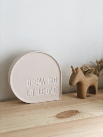 Bubble Quote - Dream Big Little One