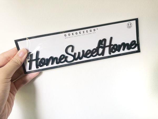 Magnetic Quote - HomeSweetHome