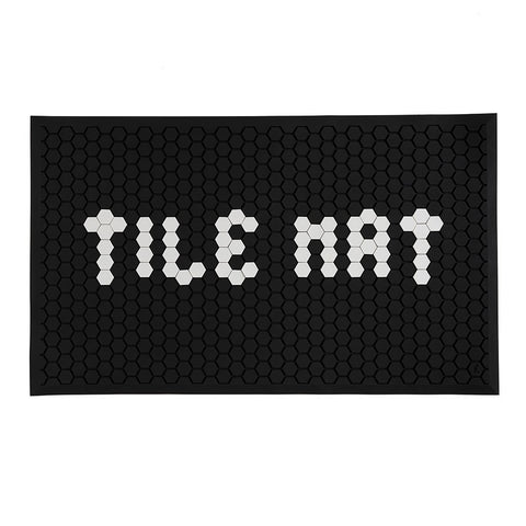 Letterfolk Tile Mat (Black)