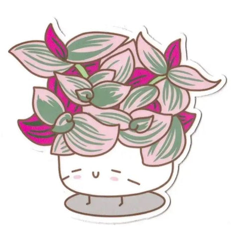Tradescantia Die Cut Sticker