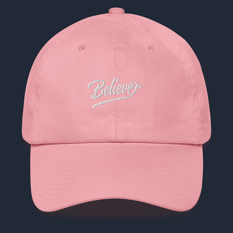 """Believe""  Dad hat"