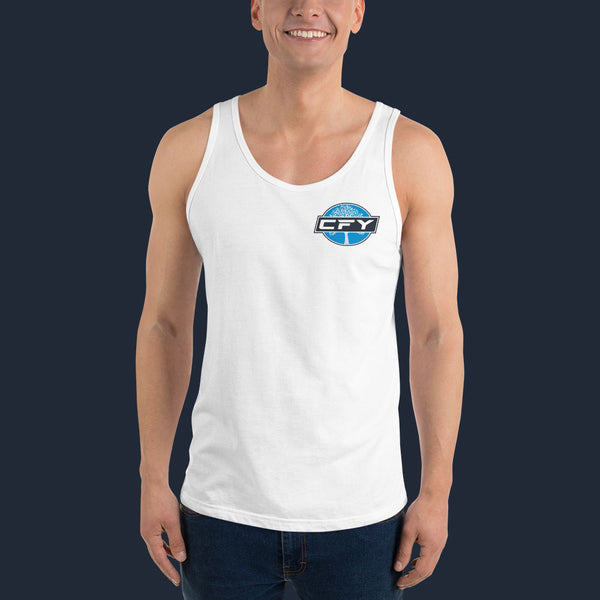 CFY-Small-Logo-Mens-Tank-Top-White