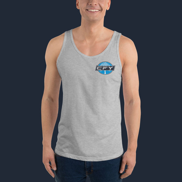 CFY-SmallLogo-Mens-TankTop-AthleticHeather