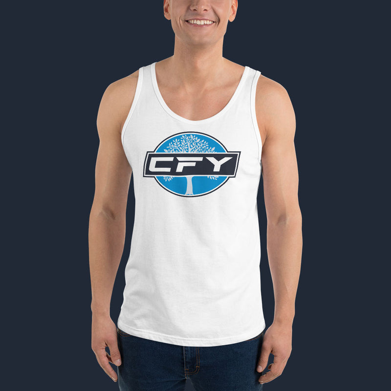 CFY Special Men's Tank Top- White