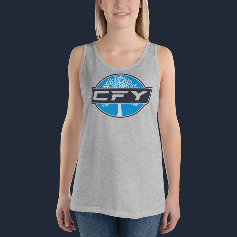 CFY Special Womens Tank Top -Athletic-Heather