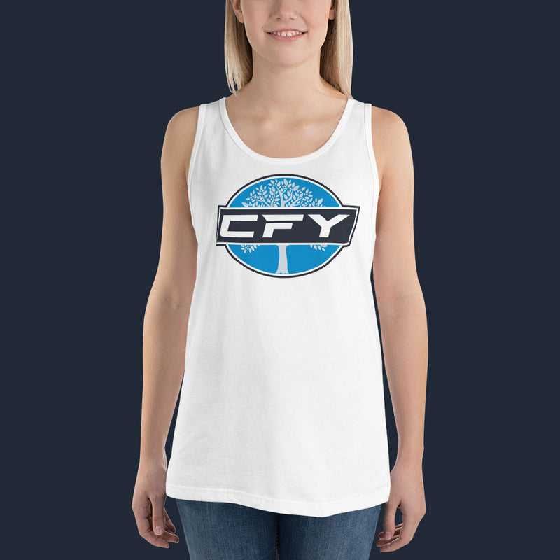 CFY Special Womens Tank Top -White
