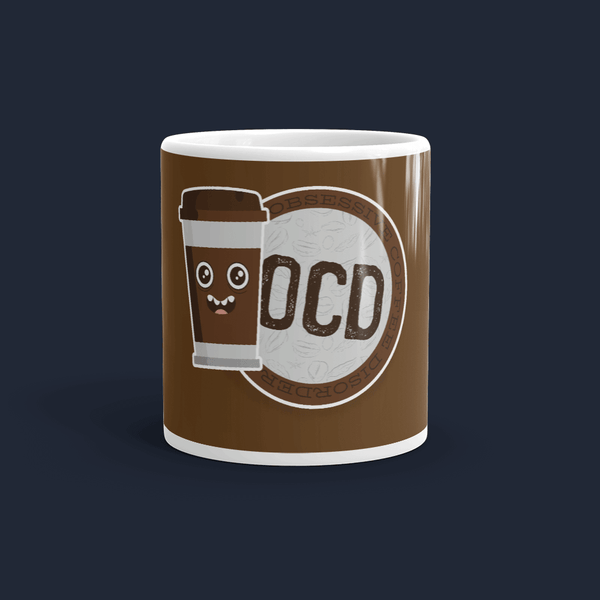 Obsessive Coffee Disorder Coffee Mug Cute
