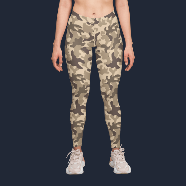 Stylish Earth Camouflage Yoga Pants