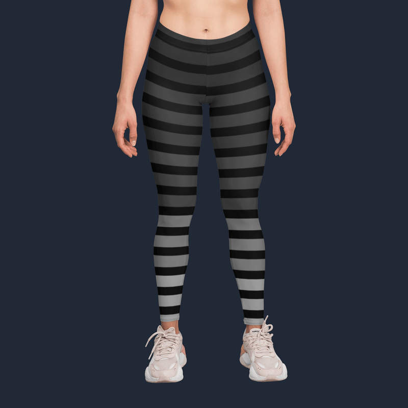 Gradient Stripe Yoga Pants