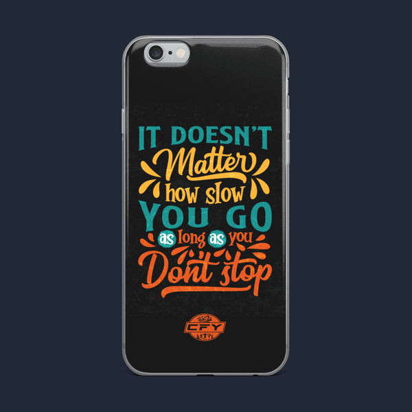 Don't Stop iPhone Cases